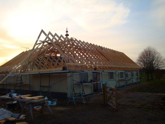 Lejre Tømreren bygger nyt tag