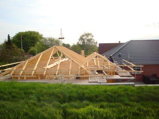 Tilbygning i Lille Karleby